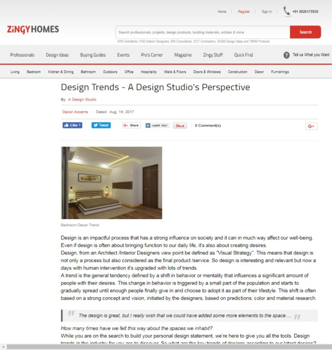 Zyngy Homes- Blog